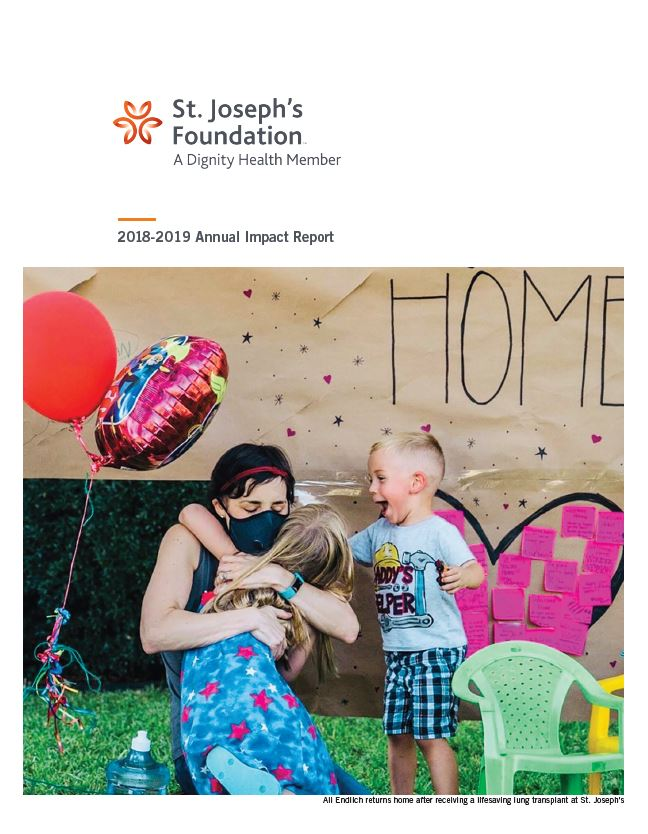 Annual Impact Report Cover 2018-19