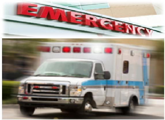 ambulance and emergency room
