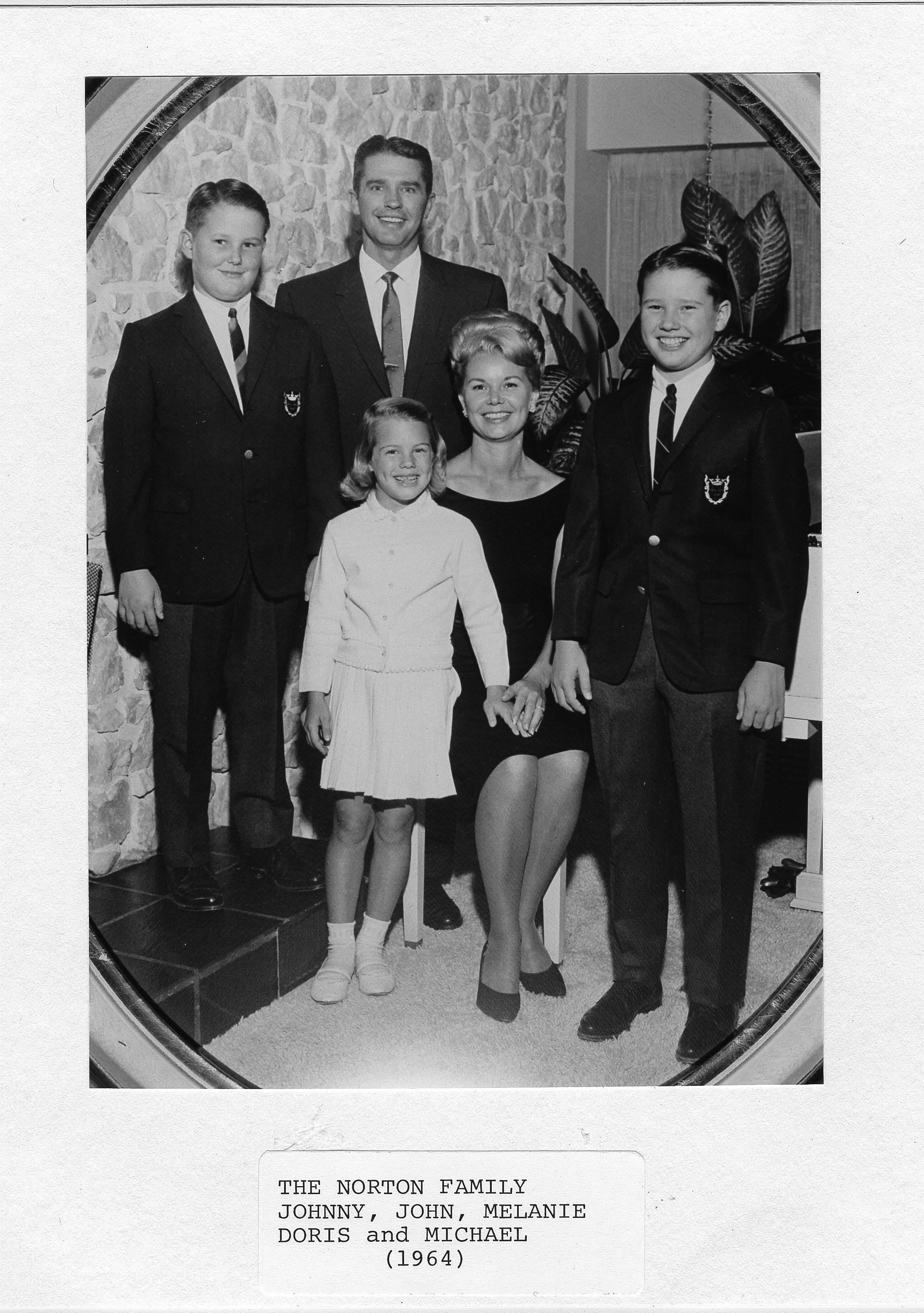 historic photo of the Norton family
