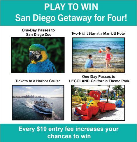play to win san diego getaway