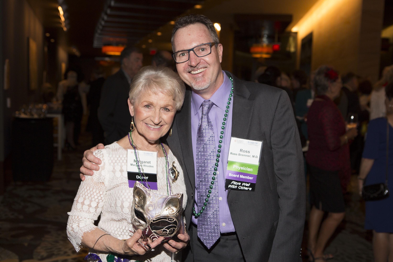 Margaret Rhodes and Dr. Bremner