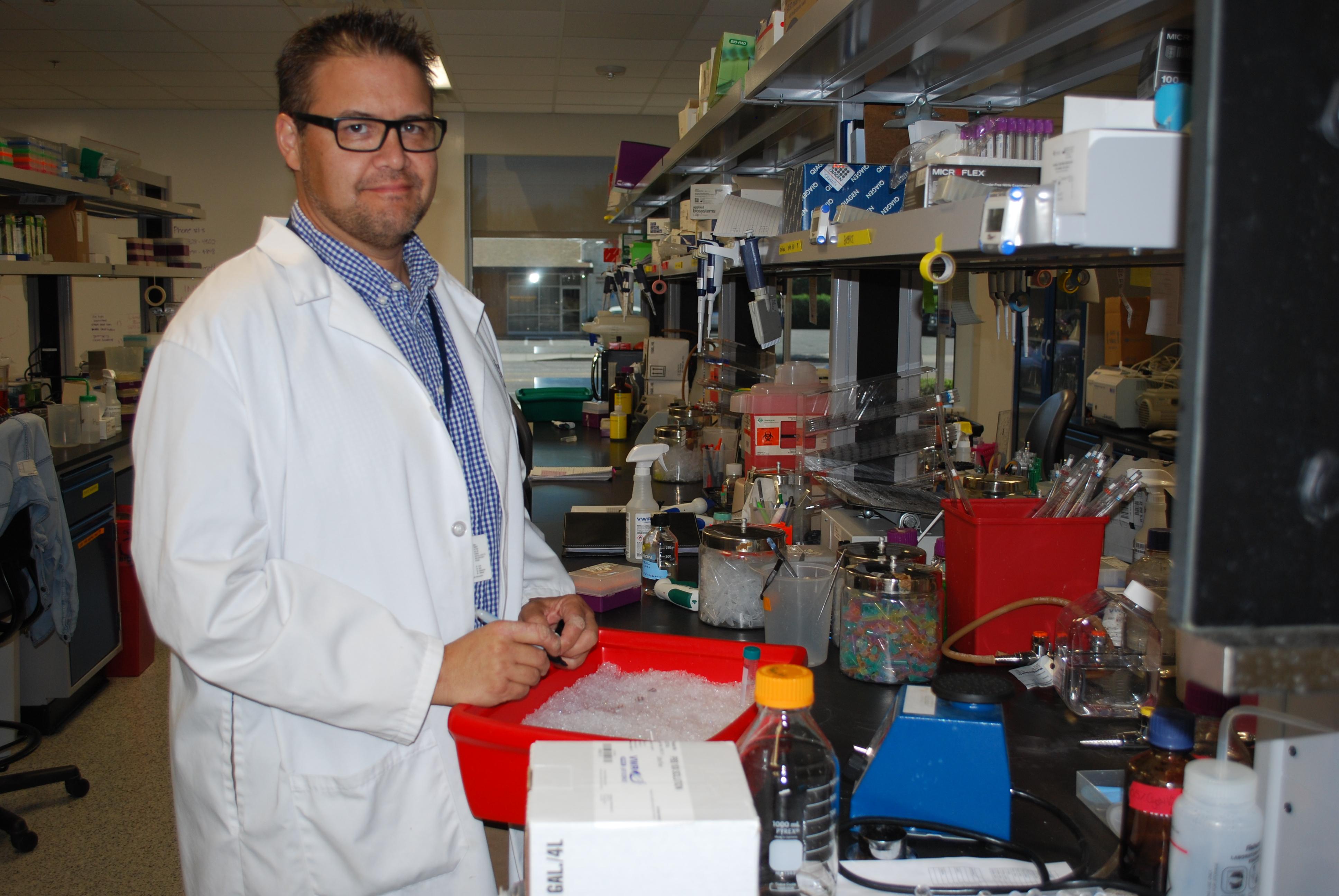 Landon Inge, researcher at NTI